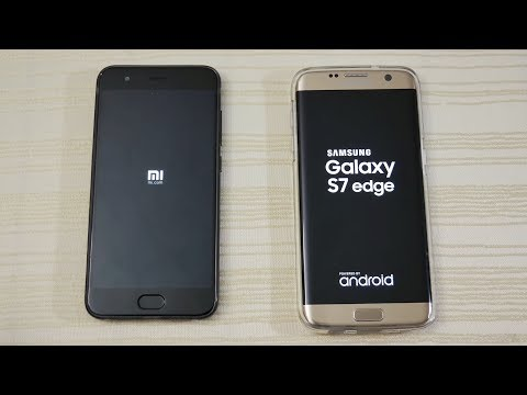 Xiaomi Mi6 vs S7 Edge - Speed Test! (4K)