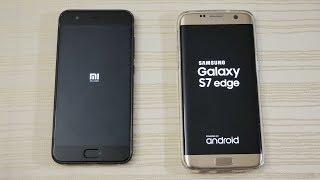 Xiaomi Mi6 vs S7 Edge - Speed Test! (4K)