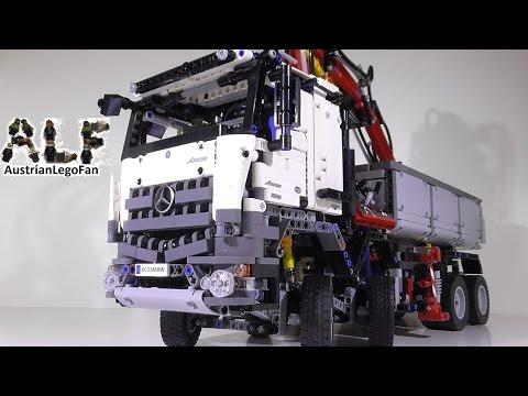 Lego Technic 42043 Mercedes Benz Arocs 3245 - Lego Speed Build Review
