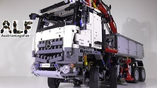 Lego Technic 42043 Mercedes Benz Arocs 3245 - Lego Speed Build Review