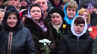Освящение памятника святой Матроне Себинской (Тульская епархия, 2015 г.)