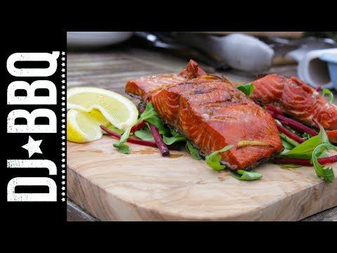 Maple Marinated Salmon | DJ BBQ