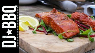 Maple Marinated Salmon | Dj Bbq