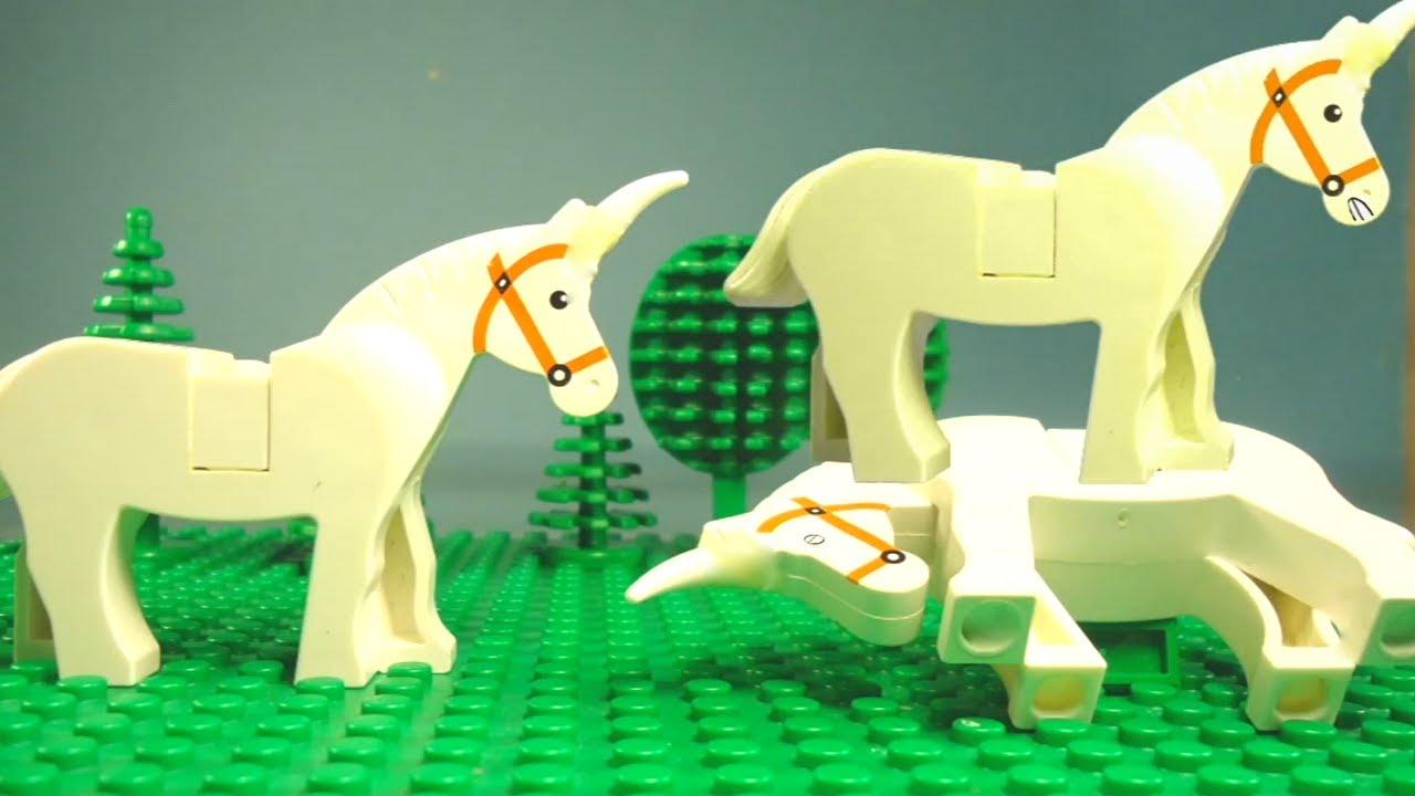Charlie the Unicorn in LEGO! - YouTube