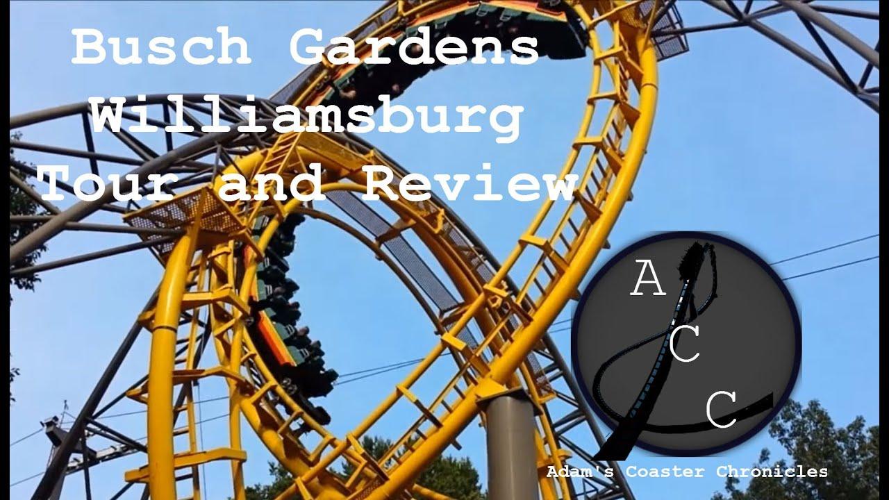 Busch Gardens Williamsburg Tour And Review