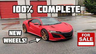 Rebuilding a Wrecked 2017 Acura NSX Part 5