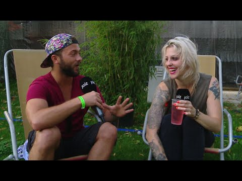 Brody Dalle - Crazy Interview in Switzerland
