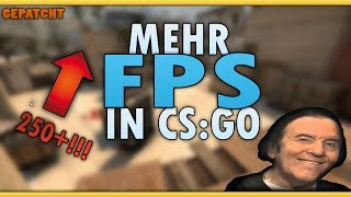 MEHR FPS IN CSGO bekommen!!! (250+!)  Counter Strike: Global Offensive German/Deutsch [HD]