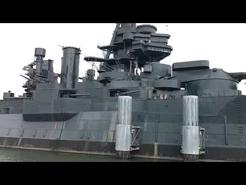 battleship  TEXAS at San Jacinto battle field Houston tx
