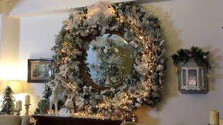 Winter Wonderland Christmas Home Decorating 2017