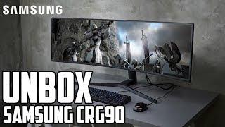 Samsung CRG90 - Unbox