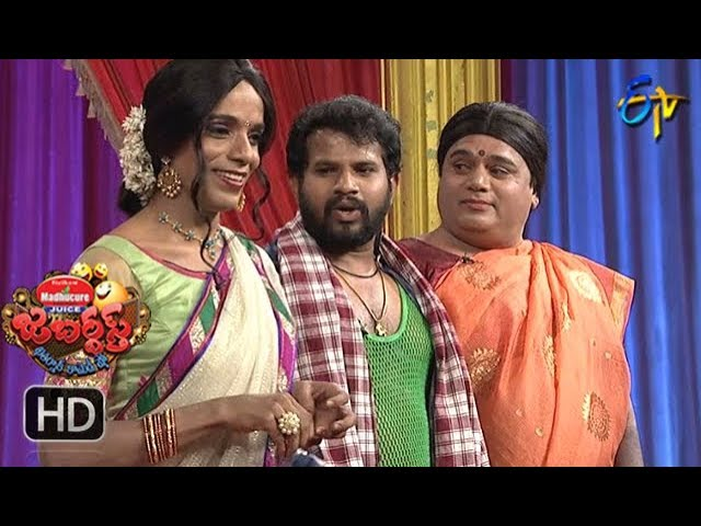Hyper Aadi, Raising Raju Performance | Jabardasth | 5th April 2018   | ETV  Telugu