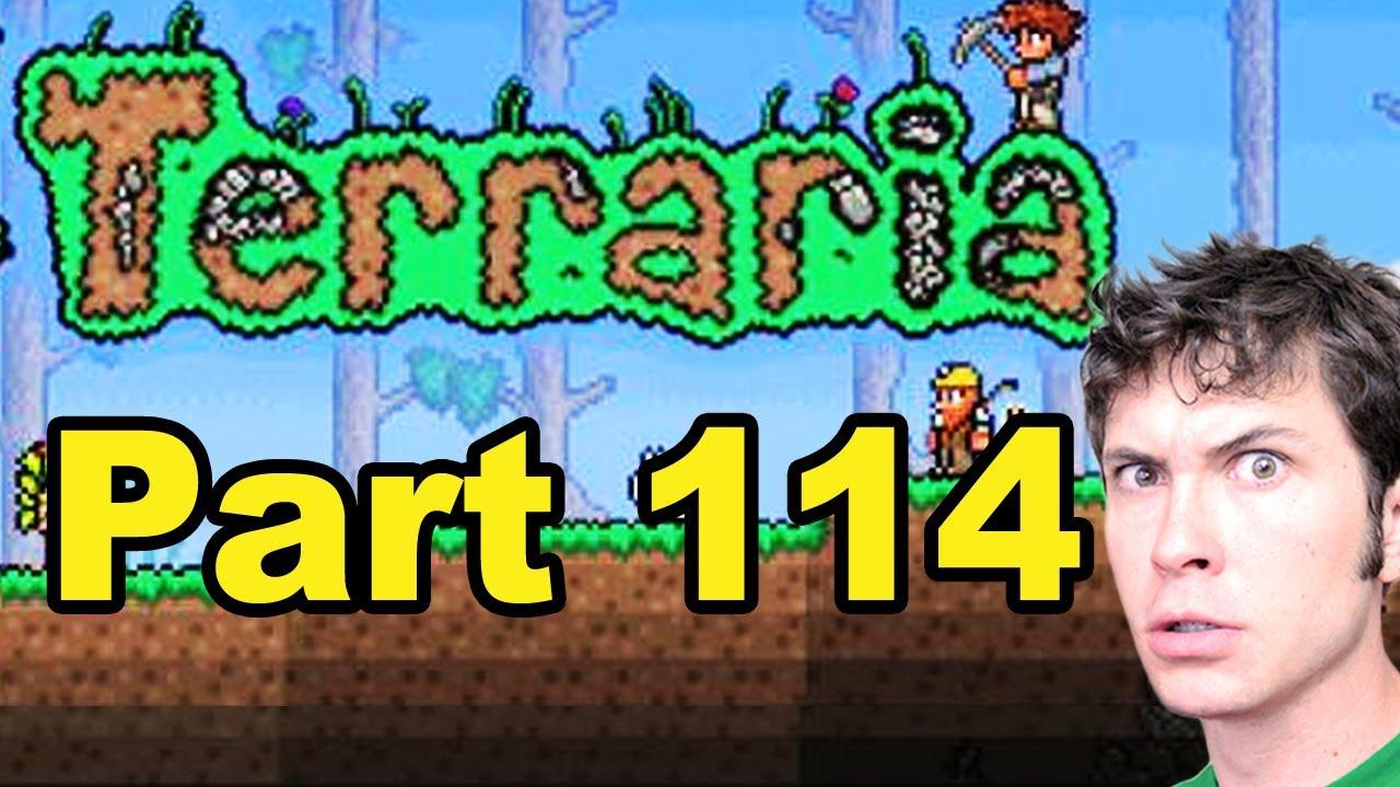 Terraria - MOLTEN PICKAXE - Part 114