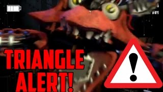 Red Triangle Alert/Old Foxy Alert!-Five Nights At Freddy