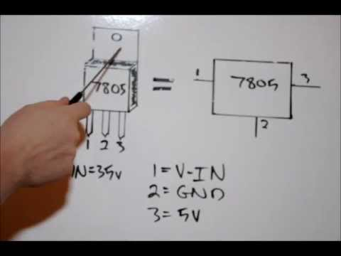 Electronic Tutorial A Detailed Tutorial On The 7805 5v 5