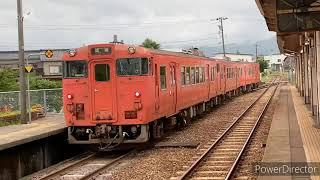 (JR西日本城端線福光駅)JR城端線記録