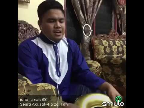 Sejati -faizal tahir cover by Azmi Saat on Smule