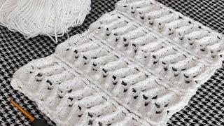 EN GÜZEL BALIKSIRTI #TIĞİŞİ MODELİ 😎😎😎#örgü #balıksırtı3D #crochet #herringbonecrochet #3Dtejido✨✨✨