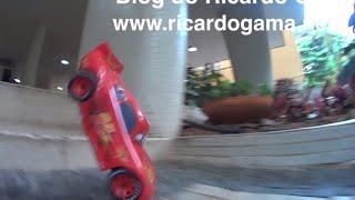 Relâmpago McQueen (brinquedo Controle Remoto), E  Caminhão Mack, Em Altas Aventuras Com Pai E Filhos