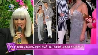 Teo Show (13.11.2019) - Ralu si Bote comenteaza tinutele de LUX ale vedetelor!