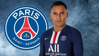 Keylor Navas ● Welcome to PSG ● Saves Compilation 🔵