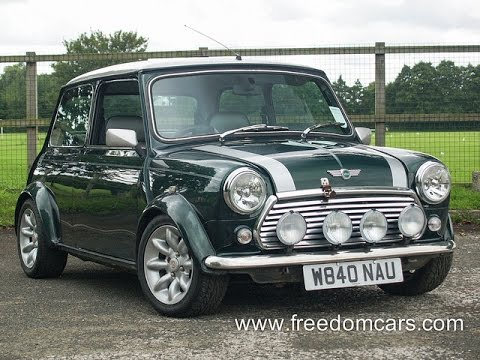 Rover Mini Cooper Sport 2dr 1.4 + FULL LEATHER + LOW MILEAGE  W840NAU