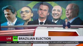 Baixar 'Trump Of The Tropics' Secures Majority Vote In First Round Of Brazil Elections