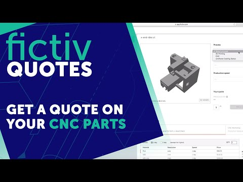 Fictiv Quotes | How to Get a Quote on Your CNC Parts