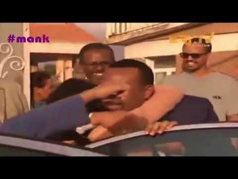 AMAZING MOMENT of THE ETHIOPIAN PM VISIT IN ASMARA