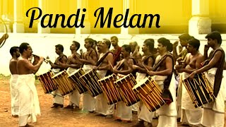 Pandi Melam, Traditional orchestra, Rhythms of Kerala