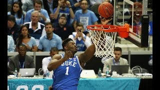 Duke star Zion Williamson blasted on twitter by Becky's from a private conversation