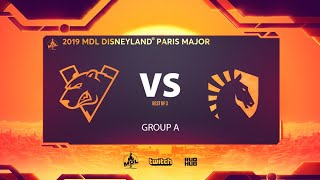 Virtus.pro vs Team Liquid, MDL Disneyland® Paris Major, bo3, game 1 [NS \u0026 Adekvat]