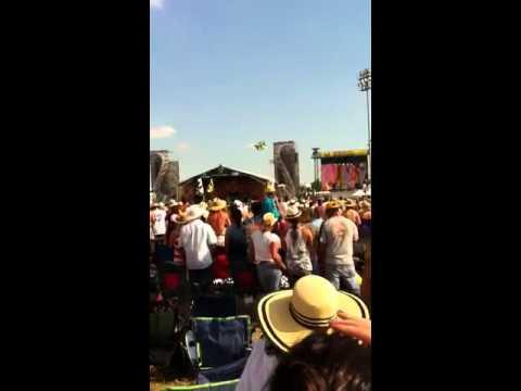 Kid Rock at JazzFest 2011