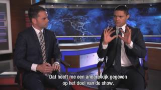 Interview Trevor Noah about U.S. Presidential Elections