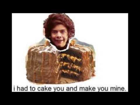 One Direction food lyrics change