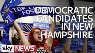 Democratic Candidates In New Hampshire