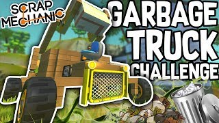 Scrap Mechanic - GARBAGE TRUCK CHALLENGE!! W/AshDubh & Speedy - [#58] | Gameplay thumbnail
