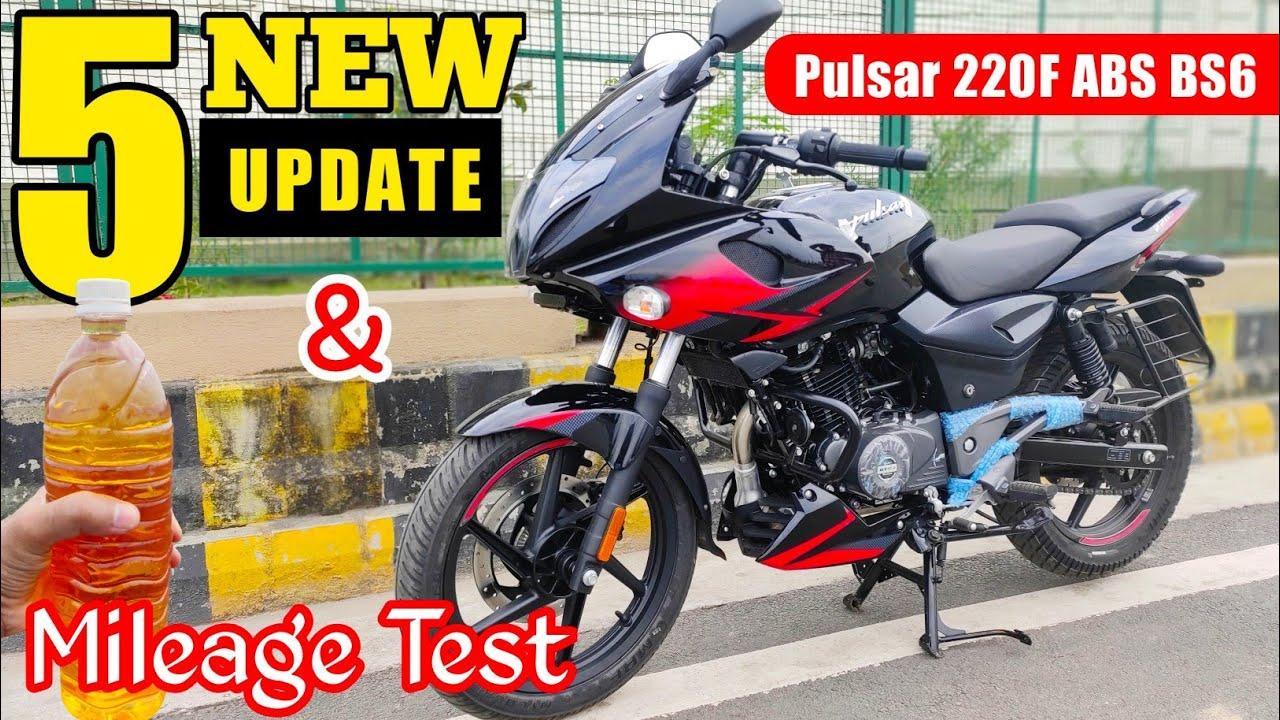 Download Bajaj Pulsar 220F ABS BS6 Mileage Test & 5 New Updates | Colour | Price | Variant