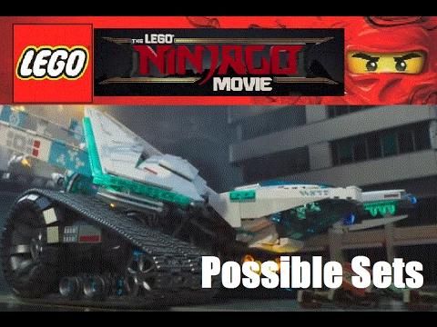 LEGO The Lego Ninjago Movie 2017 Possible Sets - YouTube