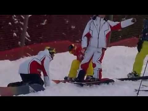 valentino rossi snow a madonna di campiglio