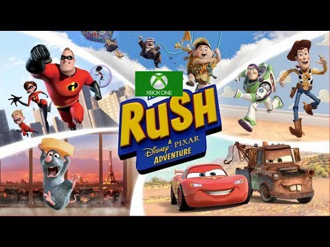 Rush A Disney Pixar Adventure - Toy Story World | Episode 1-2 (XBox One S Gameplay)