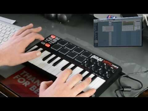 AKAI MPK mini - Hands on Review