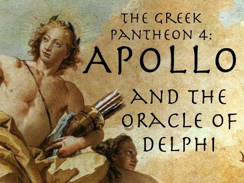 Apollo and the Oracle of Delphi