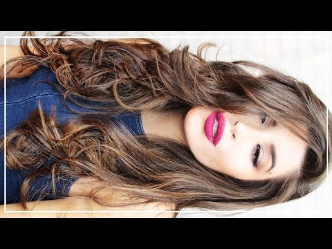 How To Curl Your Hair Flat Iron
