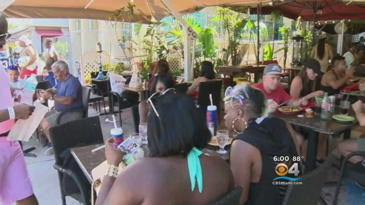 Thousands Flock To Miami Beach For Memorial Weekend Events