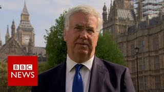 Does Michael Fallon trust Sadiq Khan? BBC News