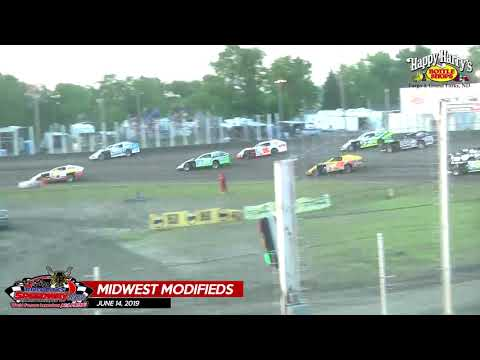 6/14/19 Midwest Modifieds - River Cities Speedway
