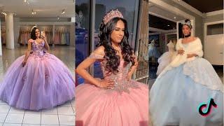 Quinceañera Birtay Dresses Tiktok Compilation MP3