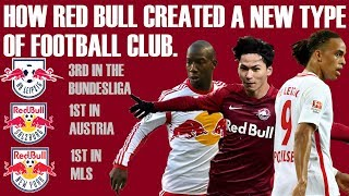 How Red Bull Created A New Type Of Football Club - RB Leipzig, Red Bull Salzburg + More