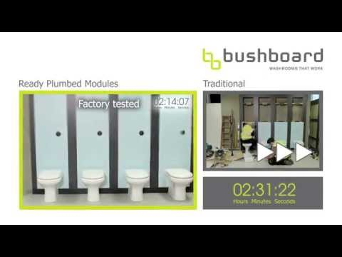 Bushboard's Ready Plumbed Modules vs. Traditional Ducting
